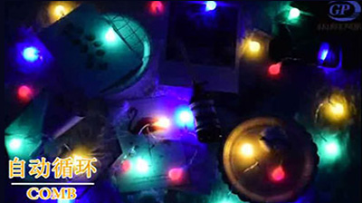 Battery Box Ball Light Strings