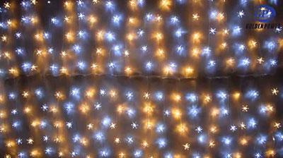 Gypsophila string lights