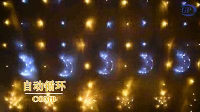 Moon Star String Lights