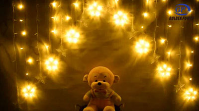 Romantic star light string