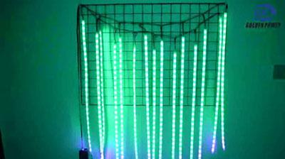 Voice-activated rhythm light strip