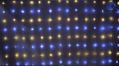Copper wire curtain light series