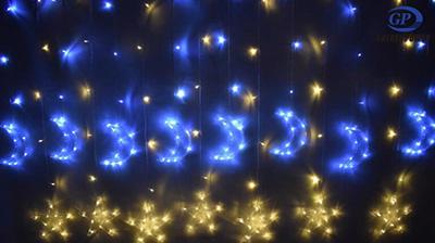 Moonlight star string